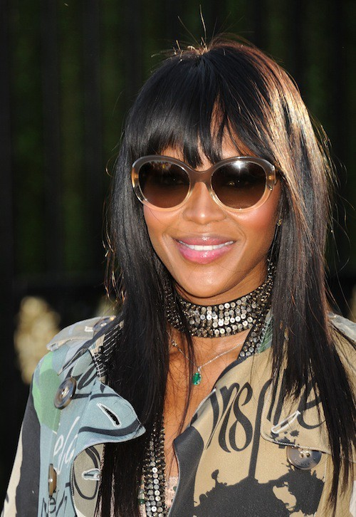 Naomi Campbell à la soirée Burberry à Los Angeles, le 16 avril 2015