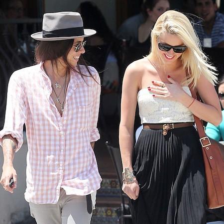Amber Heard et Tasya Van Ree