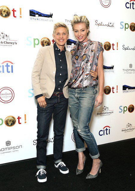 Ellen Degeneres et sa femme Portia de Rossi