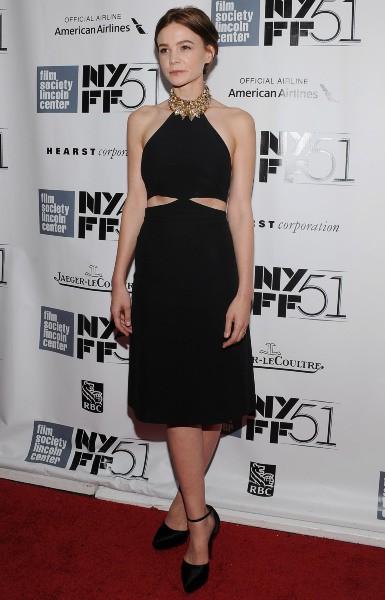 Carey Mulligan lors de la première du film Inside Lleywn Davis à New York, le 30 septembre 2013.