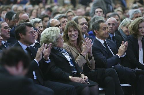 Photos : Carla Bruni : première fan de Sarko et de… Bernadette Chirac !