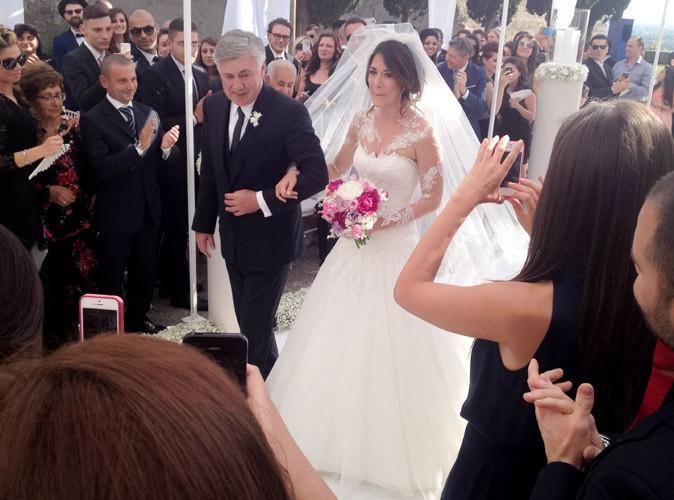 Carlo Ancelotti : l'ex-coach du PSG a marié sa fille Katia en Italie !