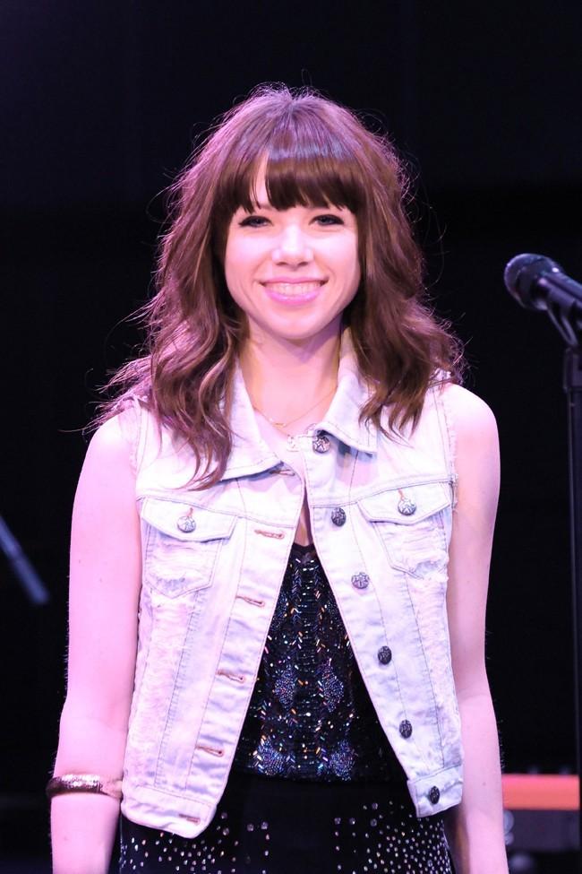 Carly Rae Jepsen le 15 septembre 2012 à Shibuya, Tokyo
