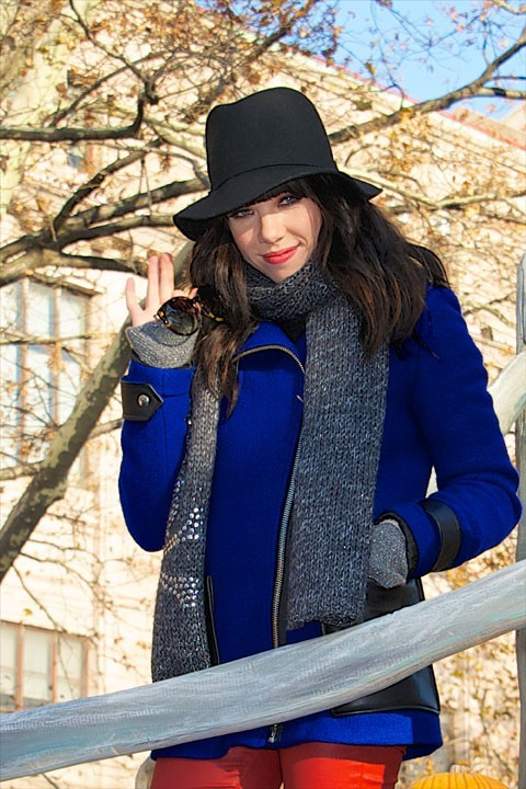 Carly Rae Jepsen à la Macy's Thanksgiving Parade à New-York le 22 novembre 2012