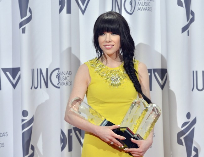 Carly Rae Jepsen aux JUNO Awards 2013