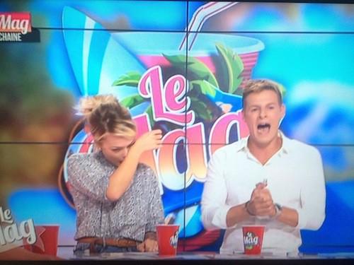 Photos : Caroline Receveur : en pleurs, elle annonce son départ du Mag !