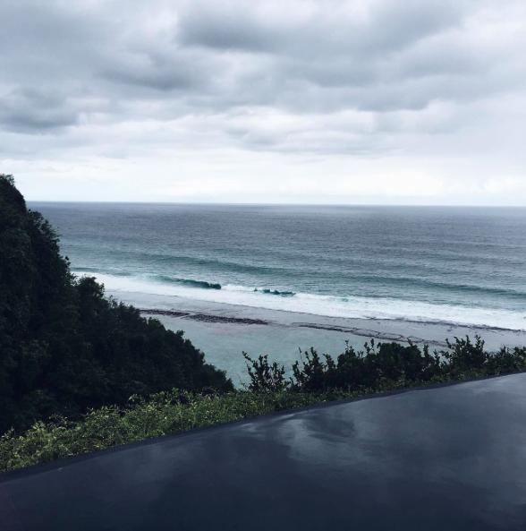 Photos : Caroline Receveur : Ses vacances de rêves à Bali !