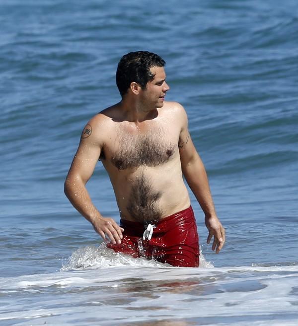 Cash Warren à Malibu le 1er juillet 2012