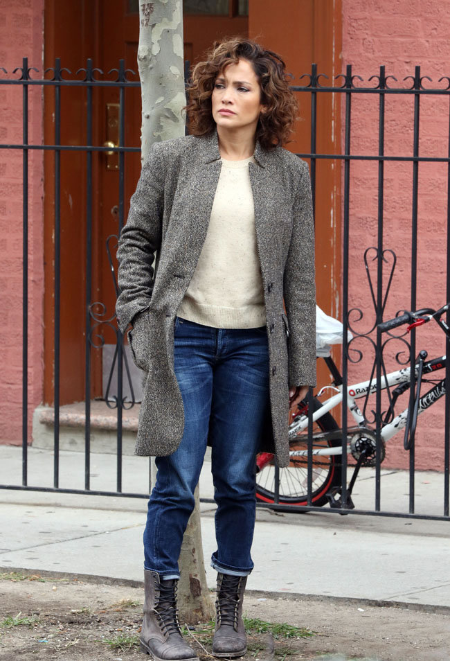 Jennifer Lopez à New-York le 2 novembre 2015