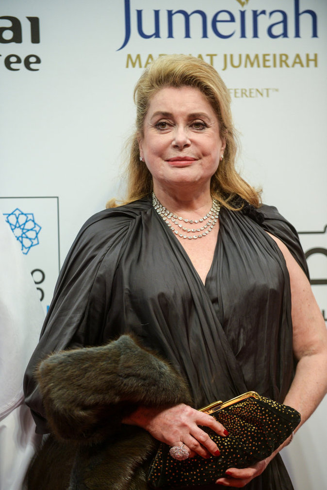 Photos : Catherine Deneuve : une leçon de style sur le red carpet !