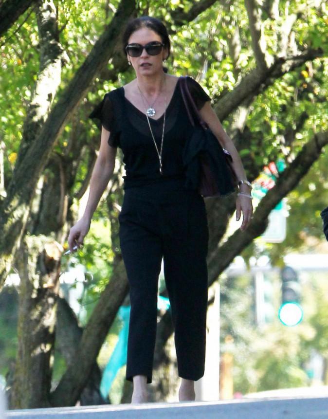 Catherine Zeta-Jones dans les rues de New York, le 4 septembre 2013