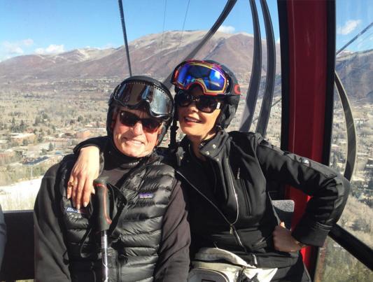 Catherine Zeta Jones et Michael Douglas ont fêté leur anniversaire de mariage à Aspen