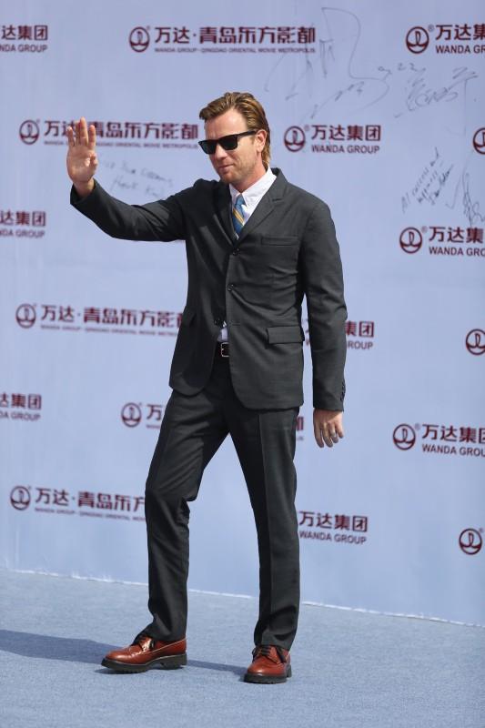 Ewan McGregor lors de l'inauguration de l'Oriental Movie Metropolis Ceremony en Chine, le 22 septembre 2013.