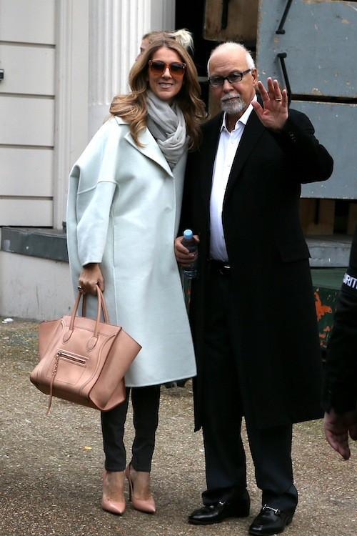 Céline Dion et René Angélil à Paris pour une série de concerts magiques