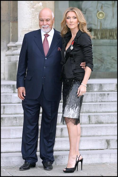 Céline Dion reçoit la Légion d'Honneur en 2008 à Paris