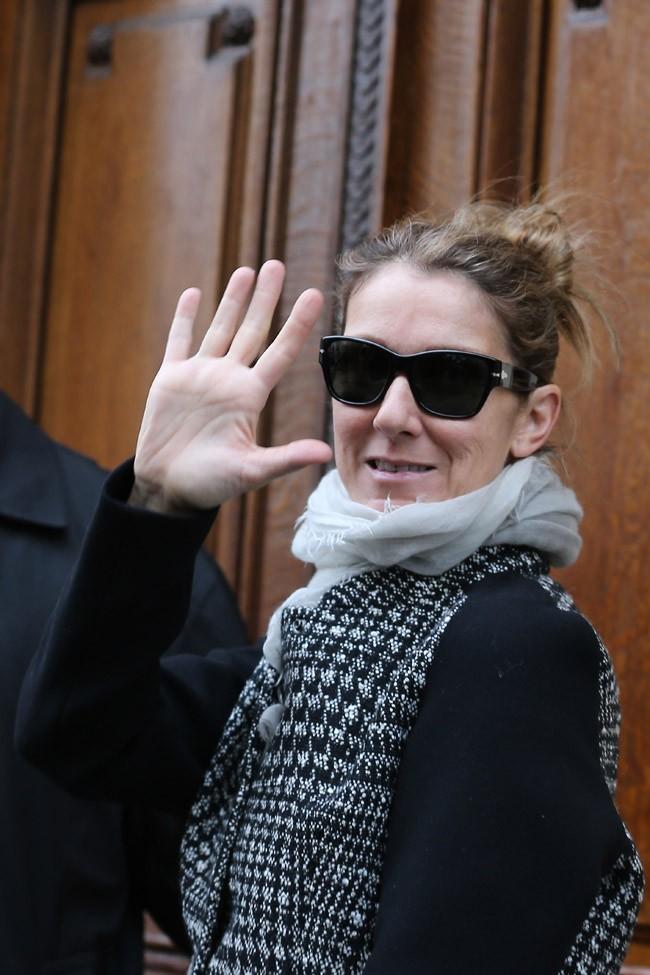 Céline Dion le 20 novembre 2012 à Paris
