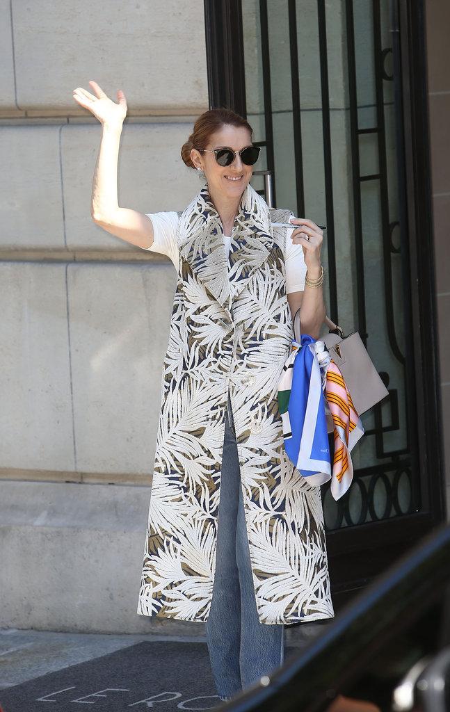 Céline Dion à Paris le 7 juillet 2016