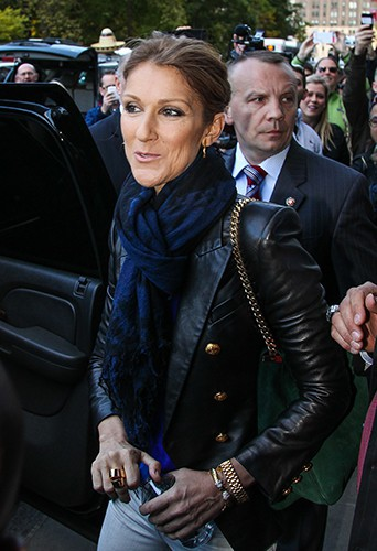 Céline Dion à New-York le 29 octobre 2013