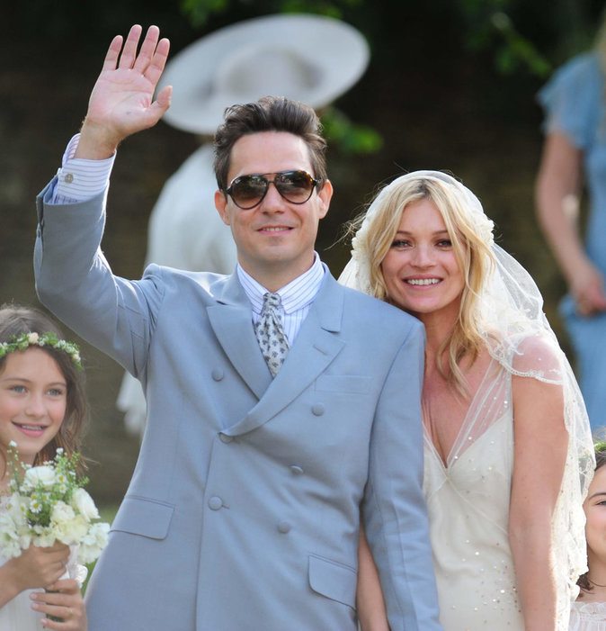 Jamie Hince et Kate Moss