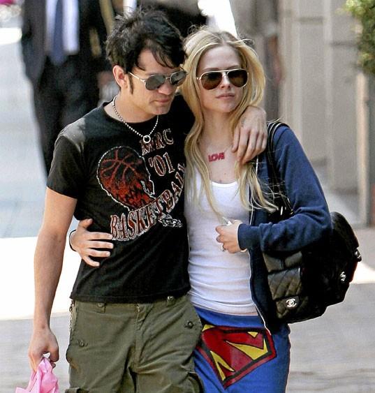 Photos : le couple de stars Avril Lavigne/Deryck Whibley s'est marié trop jeune !