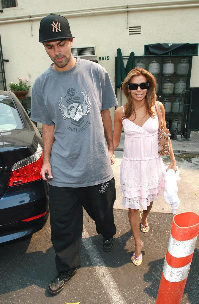 Eva Longoria et Tony Parker