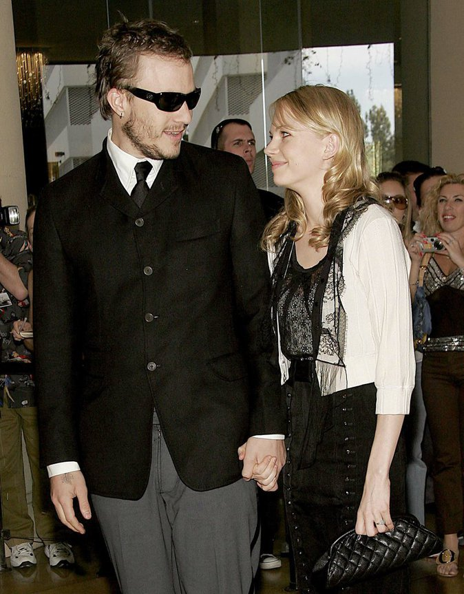 Heath Ledger et Michelle Williams