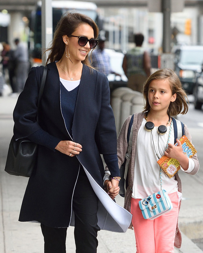 Jessica Alba et sa fille Honor Warren