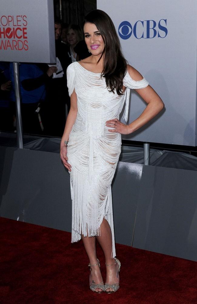 A Lea Michele, qui cache bien son jeu !