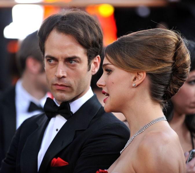 Natalie Portman et Benjamin Millepied en 2011