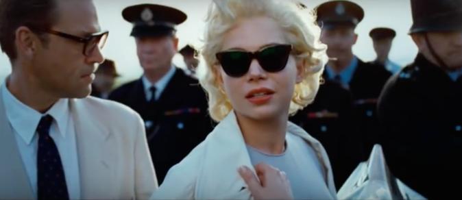 Michelle Williams en Marilyn Monroe