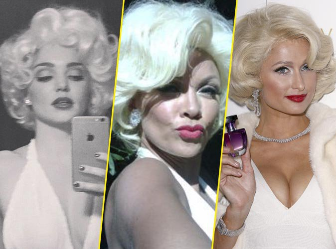 Photos : Ces stars qui ont brillamment incarné Marilyn Monroe !