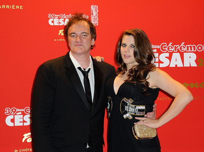 Quentin Tarantino et sa compagne, Courtney Hoffman