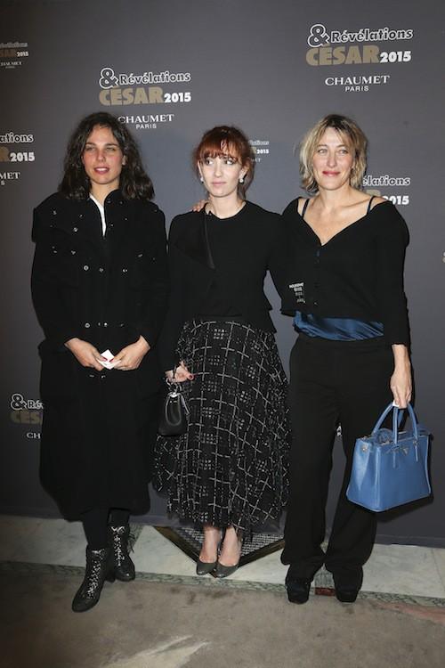 Révélations César 2015 : Valeria Bruni-Tedeschi et Lolita Chammah