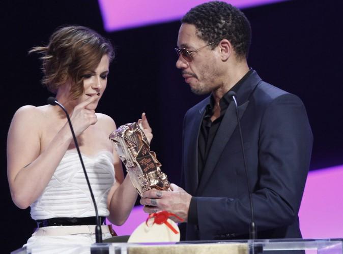 César 2015 : Kristen Stewart : elle connaît maintenant l'imprévisible JoeyStarr !