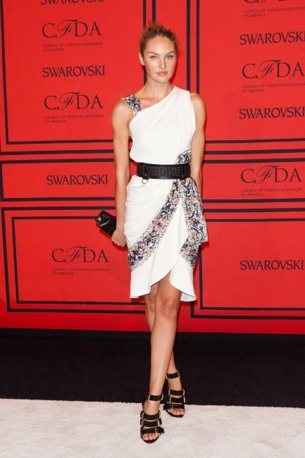 Candice Swanepoel lors de la soirée des CFDA Fashion Awards à New York, le 3 juin 2013.