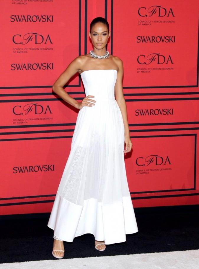 Joan Smalls lors de la soirée des CFDA Fashion Awards à New York, le 3 juin 2013.