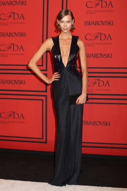 Karlie Kloss lors de la soirée des CFDA Fashion Awards à New York, le 3 juin 2013.