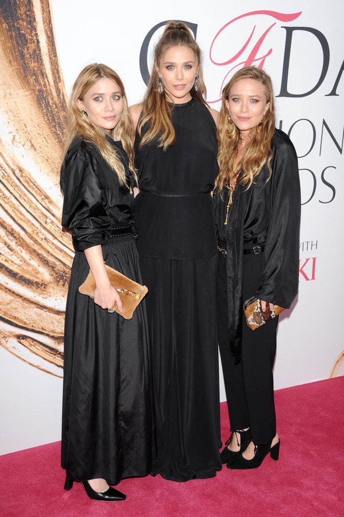 CFDA Fashion Awards : Les 3 soeurs Olsen réunies sur le tapis rouge !