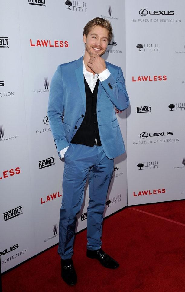 Chad Michael Murray à l'avant-première de Lawless à Los Angeles le 22 août 2012