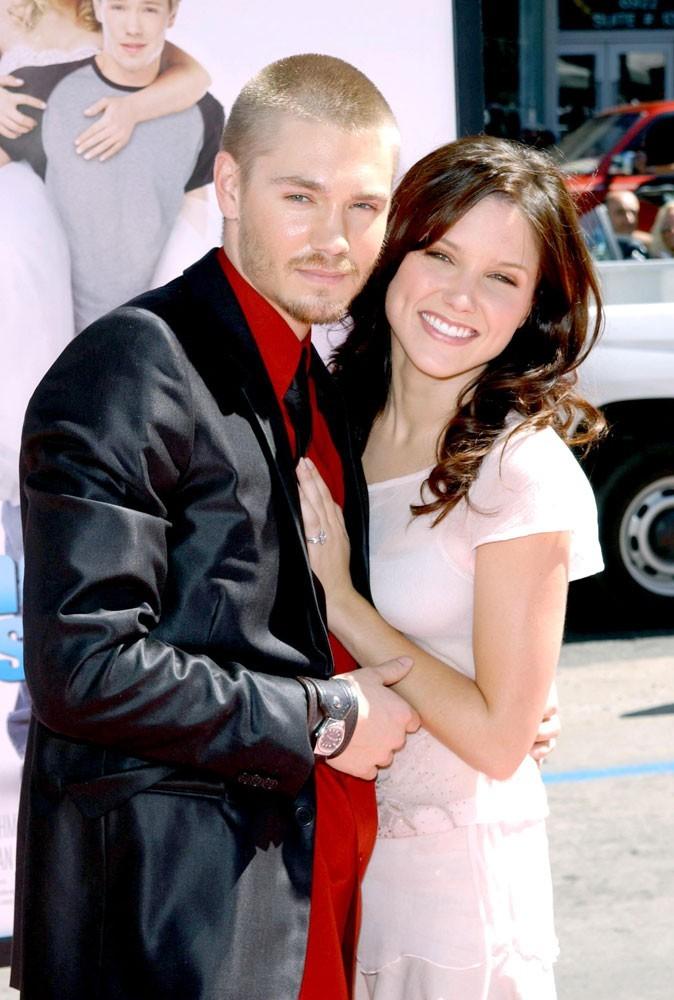 Photos : Chad Murray en 2004 à la première de A Cinderella story, avec Sophia Bush