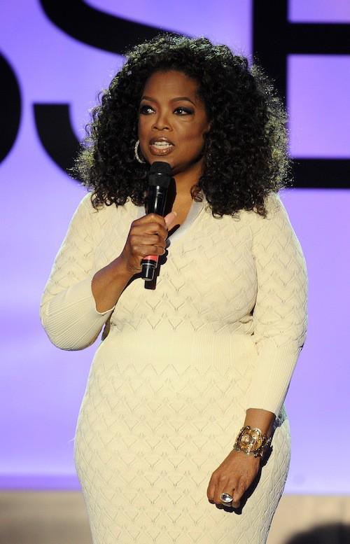 Oprah Winfrey lors de la cérémonie des Black Women in Hollywood, le 19 février 2015 !