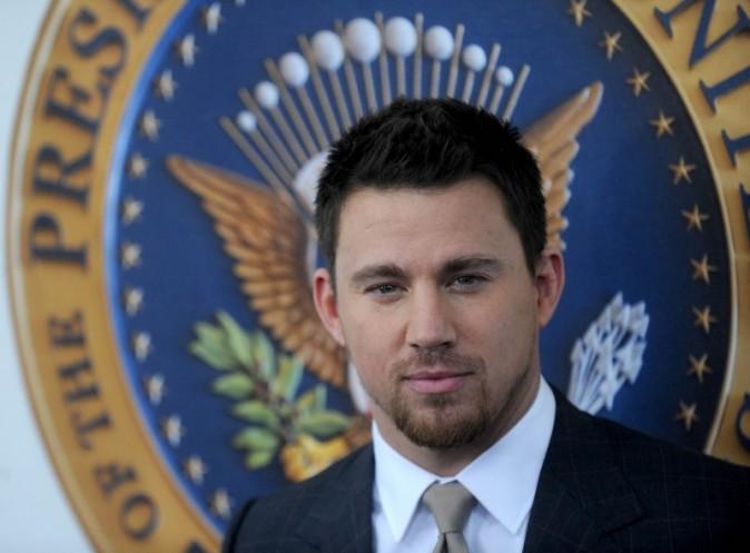 Channing Tatum à la première de White House Down
