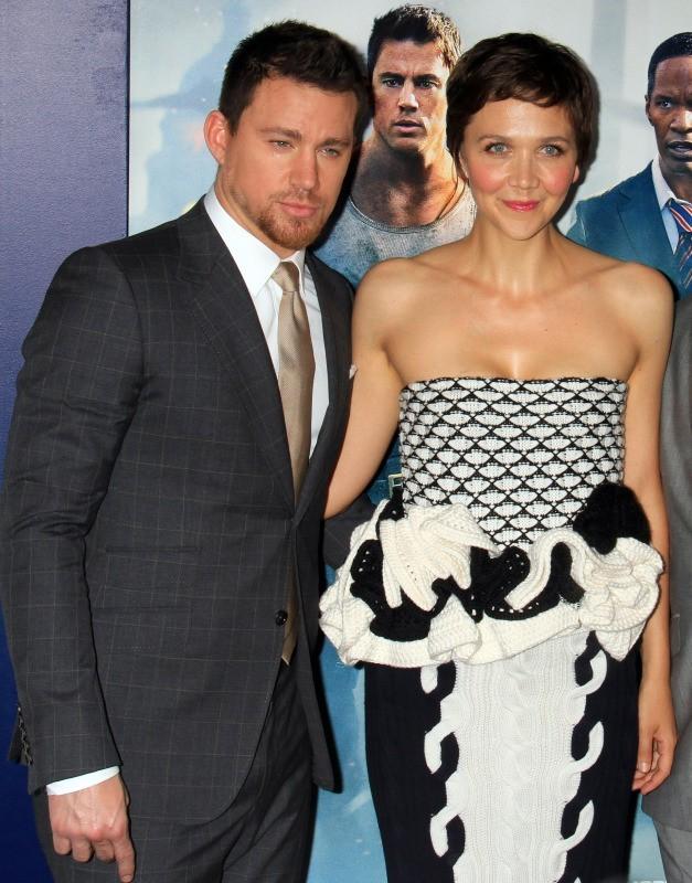 Maggie Gyllenhaal et le beau Channing Tatum