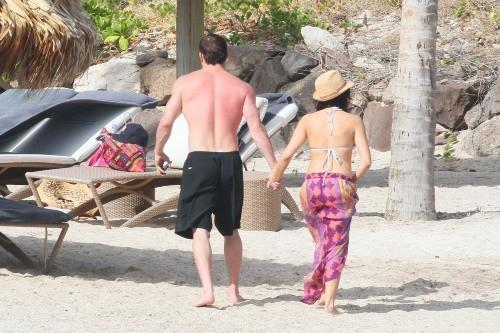 Jenna Dewan et Channing Tatum, Saint Barth, 30 décembre 2012