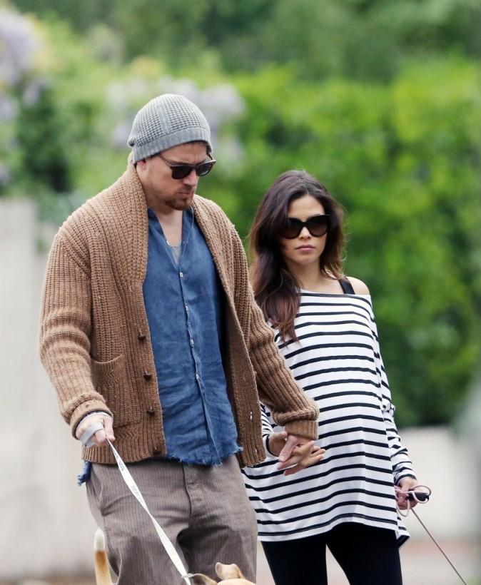 Jenna Dewan et Channing Tatum, Londres, 30 mai 2013.