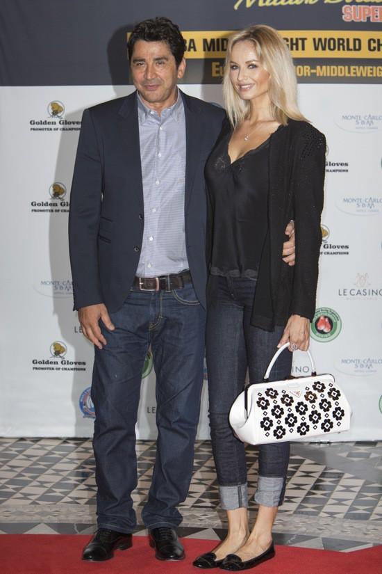 Adriana Karembeu et Andre Ohanian