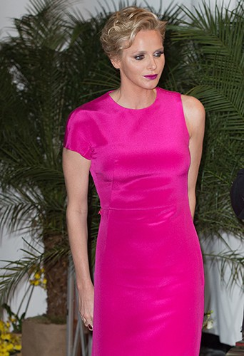 Charlène Wittstock à Monaco le 25 mai 2014