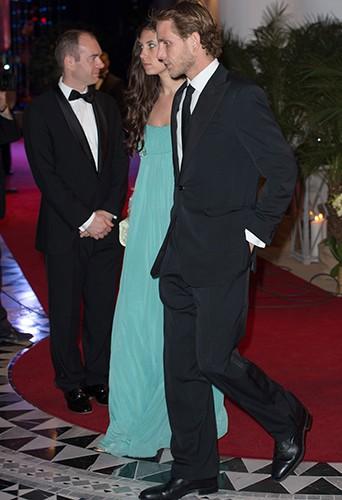Tatiana Santo Domingo et Andrea Casiraghi à Monaco le 25 mai 2014