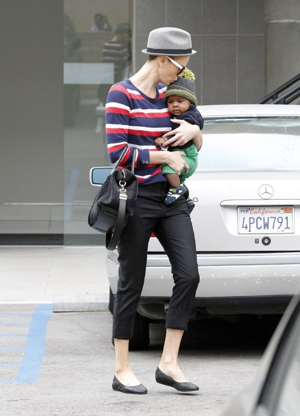 Charlize Theron à Beverly Hills le 11 juin 2012