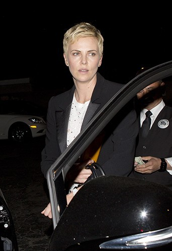 Charlize Theron à Beverly Hills le 8 avril 2013